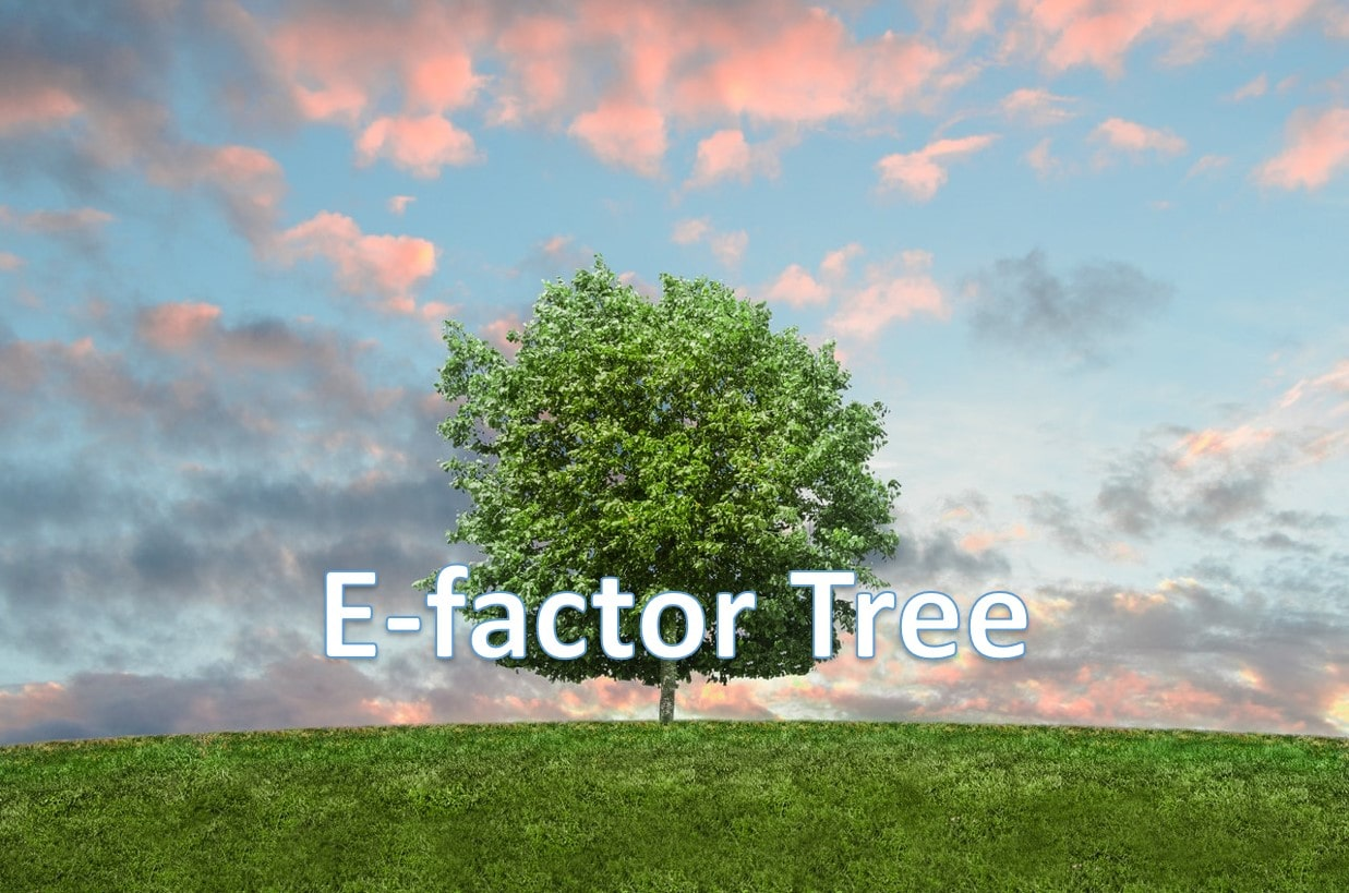 E factor tree