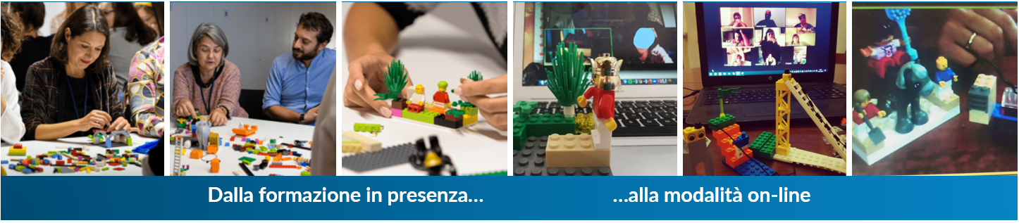Lego Serious Play, in presenza e online