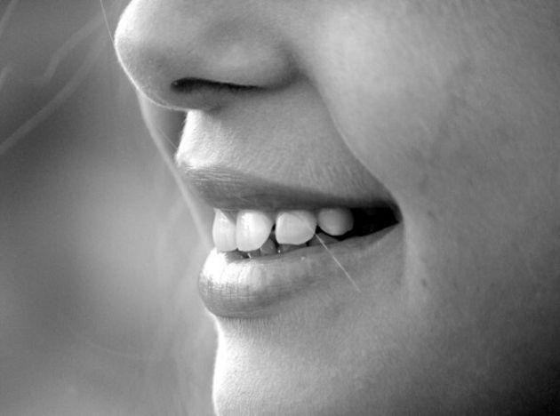 Sorriso di una ragazza
