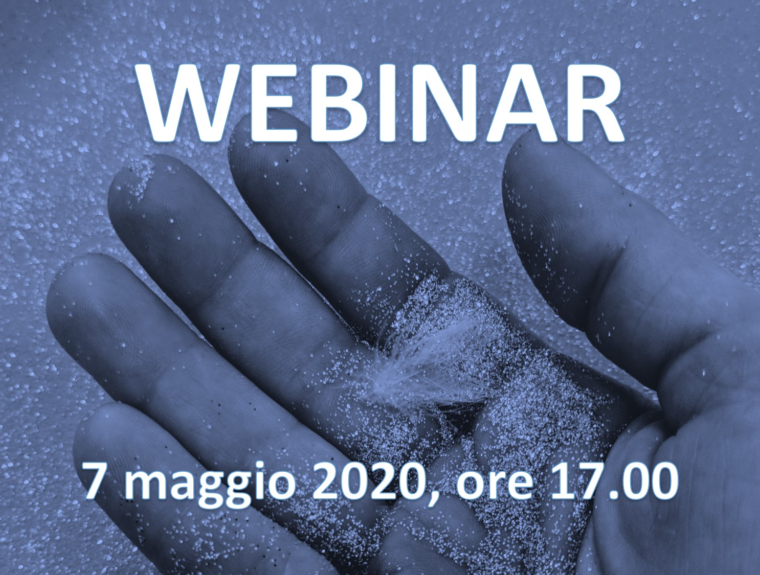 Webinar JC Blue finger
